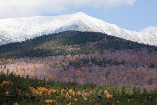 Mount Katahdin in the Fall