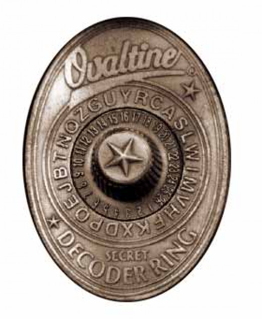 """""""Drink more ovaltine!' Then you would think  """"I sent in for THIS piece of junk?"""""""