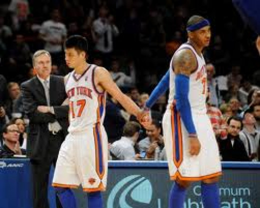 Lin and Anthony:  not headed in the same direction