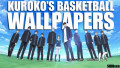Kuroko's Basketball with Generation of Miracles Wallpapers