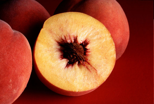 Peaches are grown in many parts of the world