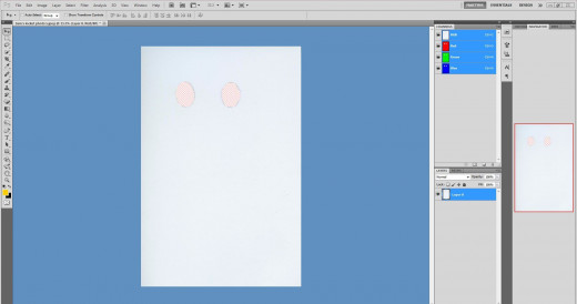 Carefully use the background eraser to create an overlay mask.