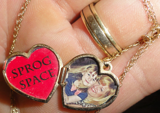 The same method was used for my wife's locket