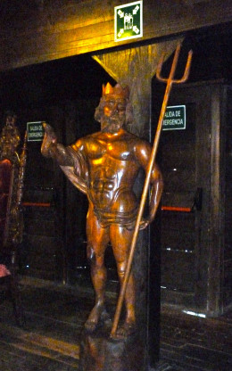 Galleon Statue of Poseidon