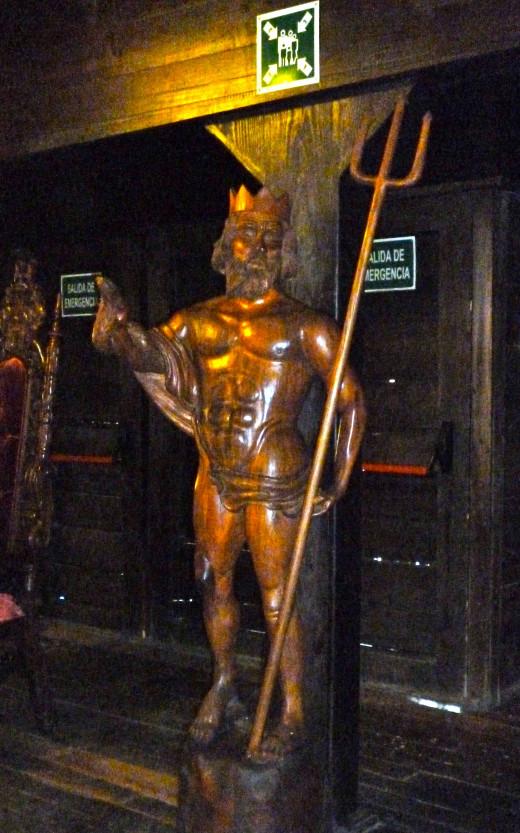 Galleon Statue of Poseidon