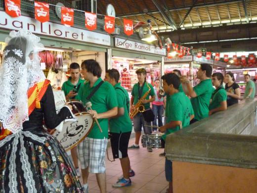 Bellea for the Hoguera Mercado Central