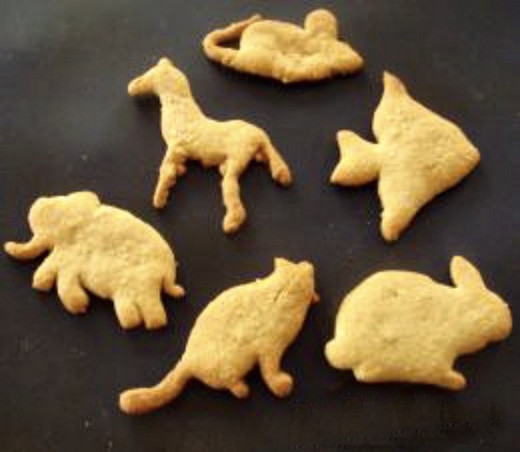 Homemade animal crackers are a healthy, easy to make treat.
