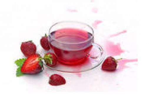 Using tea to color your hair red