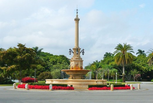 Coral Gables De Soto Fountain