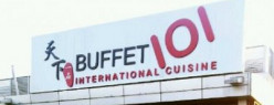 Dining in BUFFET 101, another eat all you can experience.