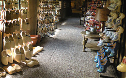 Don't even pack noisy shoes like clogs, shhhh. The idea is NOT to draw attention to yourself when traveling, blend in as much as possible.