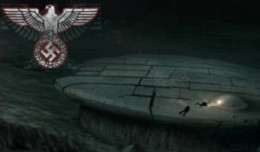 Artist's rendition of Baltic Sea UFO image