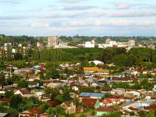 A view of present day Osorno.