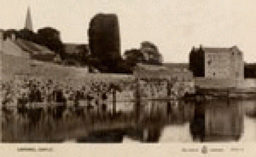 Listowel Castle many years ago