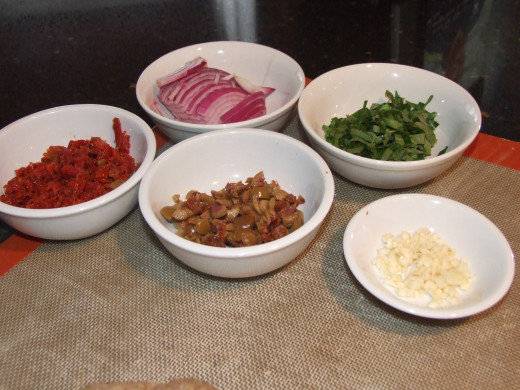 Have all the ingredients ready to go!