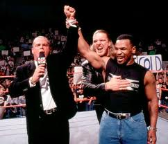 Mike Tyson joins DX as a result of the altercation with Stone Cold.