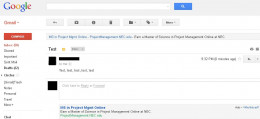 Open the email you want to add as an attachment to a separate email.