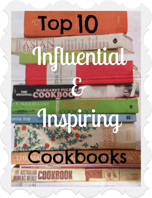 Top 10 most inspirational and influential cookbooks