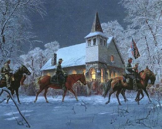 """Southern Stars"" by Mort Kunstler"