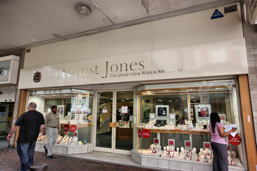 Ernest Jones, Oxford street, London