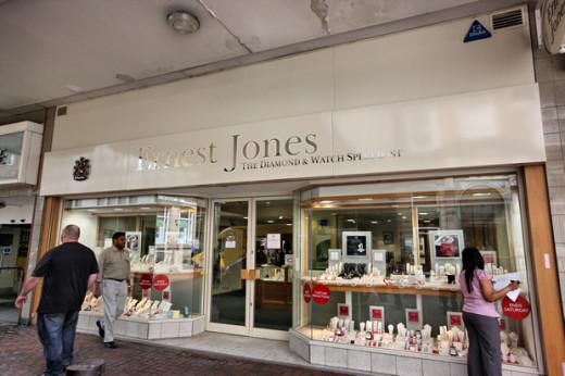 Ernest Jones, Oxford street, London