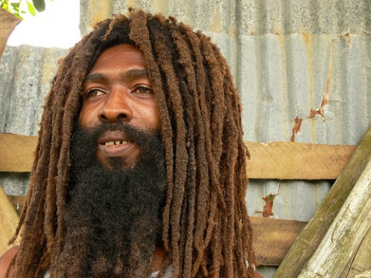 Rastafarians wear dreadlocks and frequently use Jamaican Patwa in everyday life