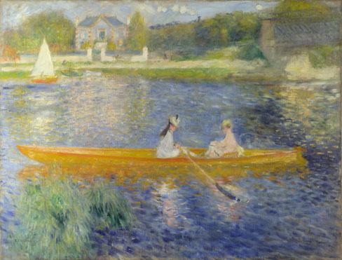 La Yole by Renoir