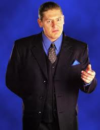 William Regal dressed his best for the occasion. He always kissed up to the boss!