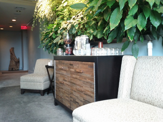Interior Lounge offers a place to relax and enjoy