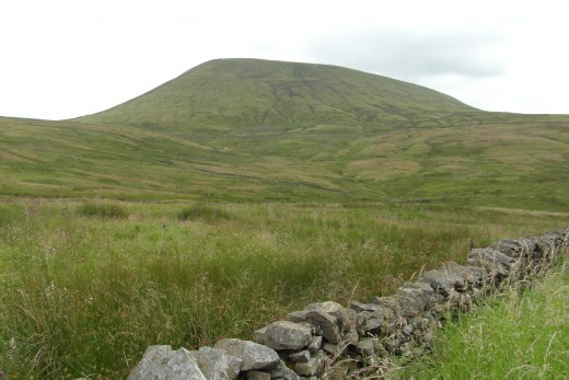 Pendle from Pendle road.