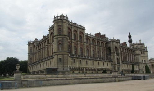 Just 30 minutes from Paris is an interesting royal castle.  A must if you have seen all the other bigger castles.