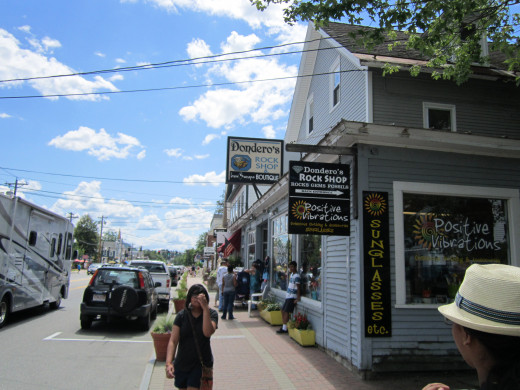 Walk down the Main Road in North Conway Village and you will find something for Everyone!
