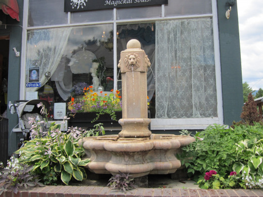 A Water Fountain!