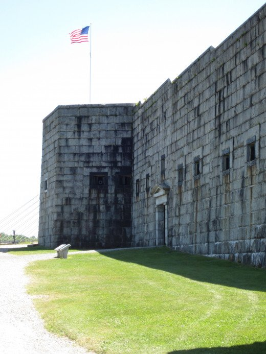 Front View of Fort Knox