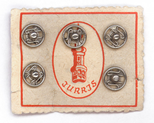 Old fashioned stud buttons