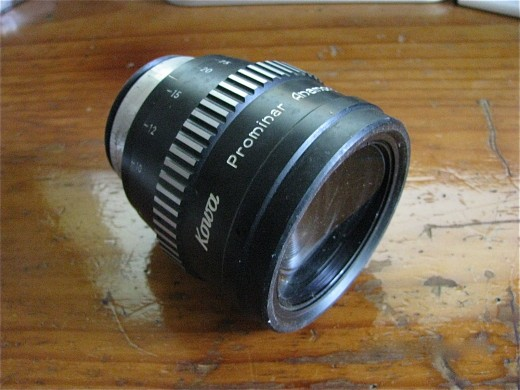GLORIOUS KOWASCOPE anamorphic lens, still here with a few slight marks...
