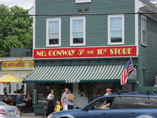 Over 75 Years at the No. Conway $.05 and $.10 Store!
