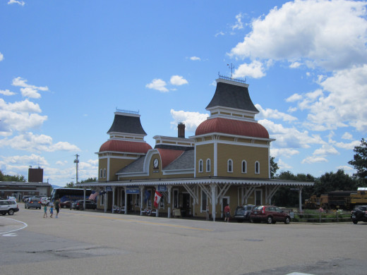 North Conway Train Station