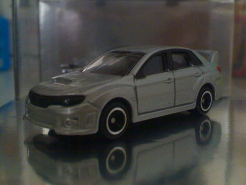 Diecast Brand: Tomica Scale: 1:64 Color: Grey Plastic Wheels and Chassis