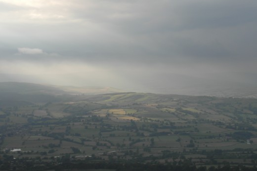 Pendle view north