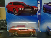 Dominic Toretto's getaway Chevelle diecast replica in the post credit scene in the first FnF movie