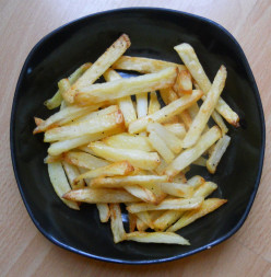 How To Make Homemade Oven Baked Chips or French Fries