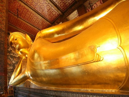 The Reclining Buddha