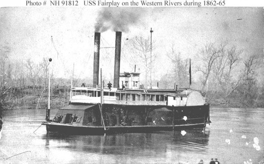 USS Fairplay. Such boats provided crucial defense to the good people of Coolville during the Civil War.