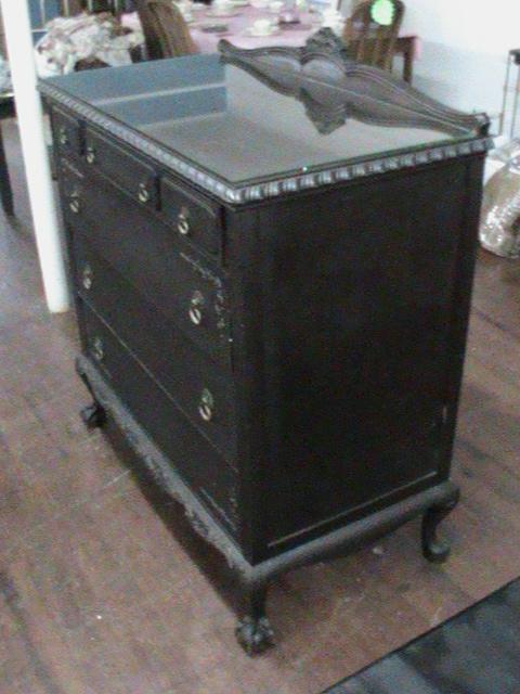 a Very Old Antique Dresser
