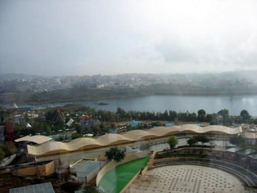 view of Abha dam