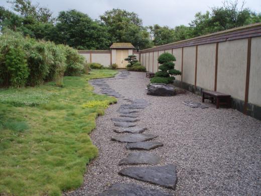 Japanese garden, Ostend, Belgium.
