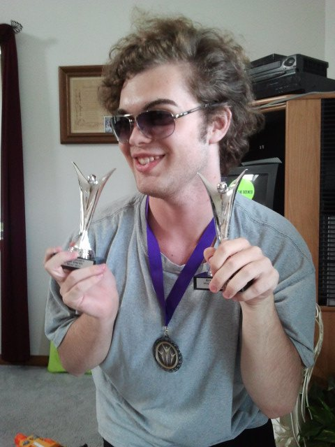 Accolades, awards and some seriously cool shades are the result of doing well in college. Photo Source: Shanna11