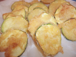 Yummy, super delicious deep fried zucchini will become a fast favorite.
