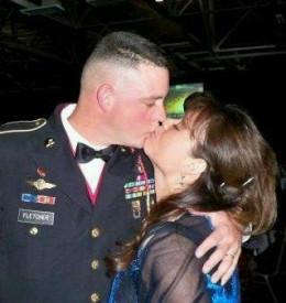 MSG Randall Greets wife Marina